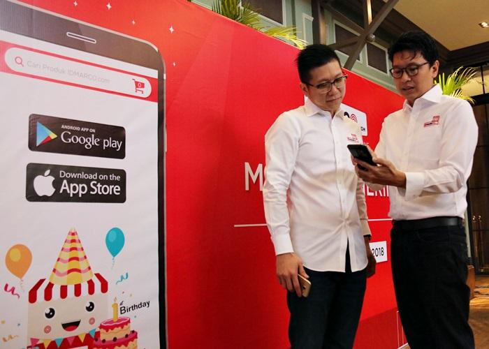 IDMARCO.com Luncurkan Mobile Apps di Ulang Tahun Pertama