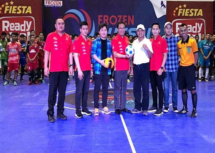 Frozen Mendukung Prestasi Anak Bangsa Melalui Frozen Futsal Festival