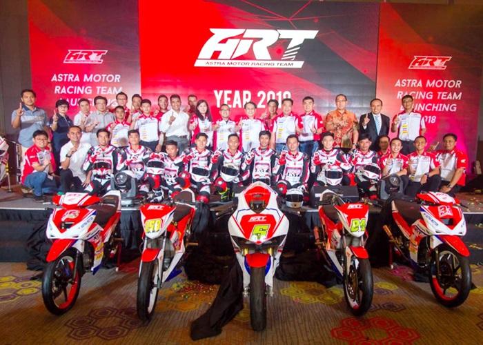 Astra Motor Racing Team Siap Rajai Musim Balap 2018