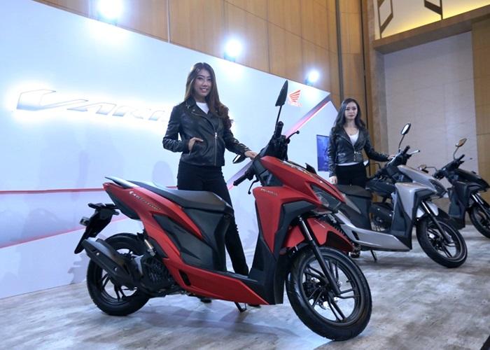 All New Honda Vario Skutik Performa Tinggi