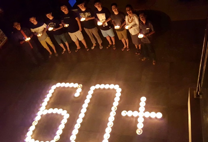 Earth Hour  2018 Harper Hotel Purwakarta