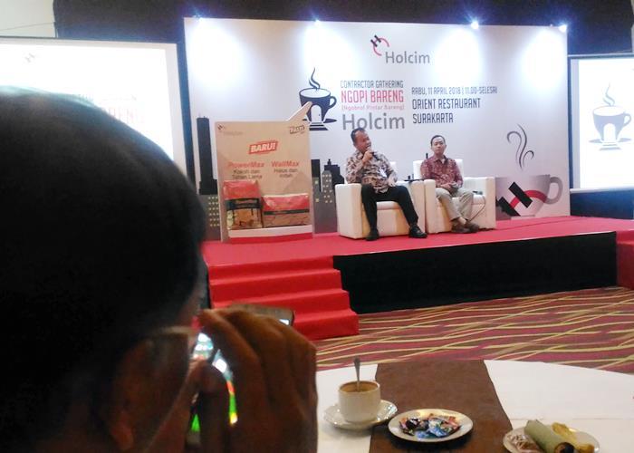 Produk WallMax dan PowerMax Holcim Indonesia Perkuat Pasar