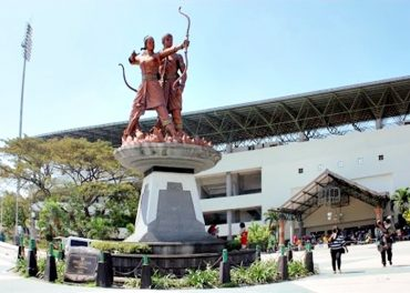 Kawasan Manahan Menuju Sport Centre Internasional