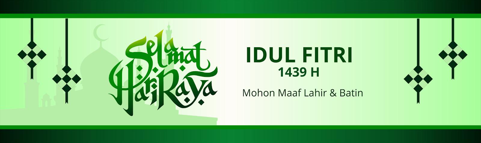Desain Banner Spanduk Hari Raya Idul Fitri H Informasi Jawa Tengah Online