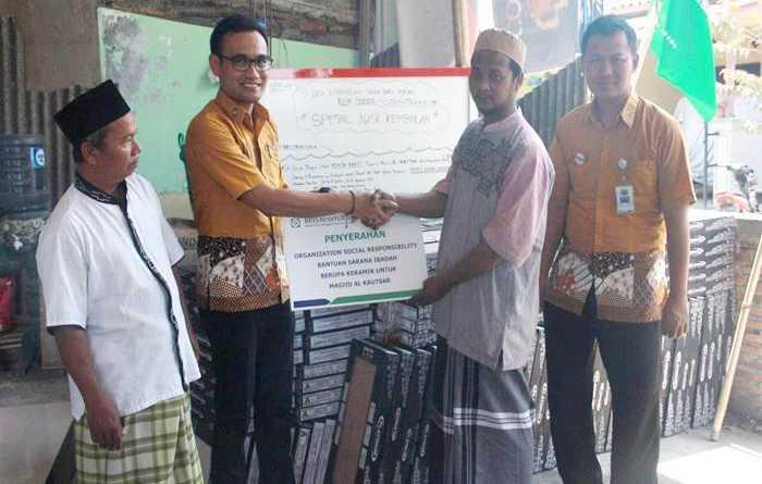 BPJS Kesehatan Surakarta Salurkan Bantuan OSR Masjid Al-Kautsar