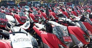 Bagi-bagi Skutik NMAX Merah di Sukoharjo Disoal