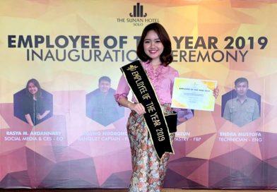 Rasya Ardannary, Best Employee Of The Year Sunan Hotel