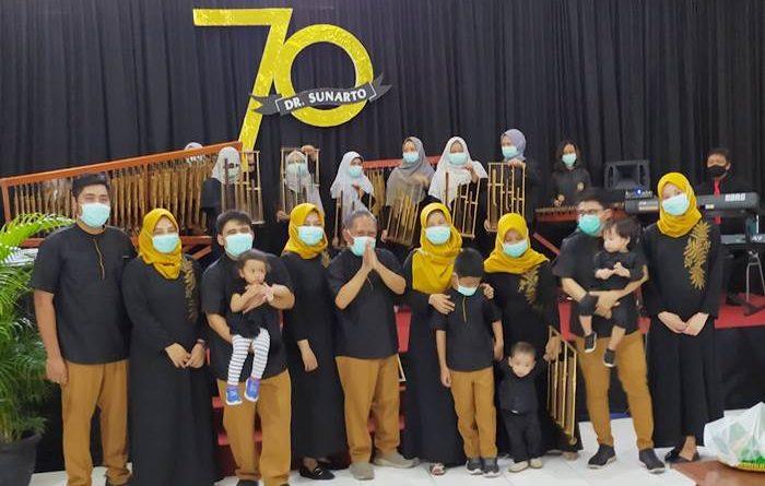 Dr. Sunarto Isstianto Ultah ke-70, Perayaan Sederhana Tapi Khidmad