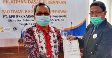 Tim Marketing BPR BKK Karangmalang Dibekali Sales Coaching