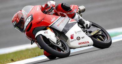Mario Berjuang Hasil Terbaik di FIM CEV Moto3 Spanyol