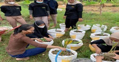 Penghijauan Tanaman Buah dan Herbal Bersama Mahasiswa Pertanian Unisri