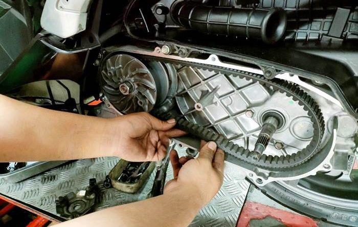Cara Merawat V-belt Motor Skutik Agar Tetap Awet