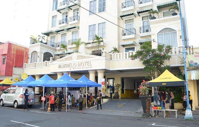 Amarelo Hotel Gandeng Puskesmas Jayengan Gelar Vaksin Untuk Warga Solo